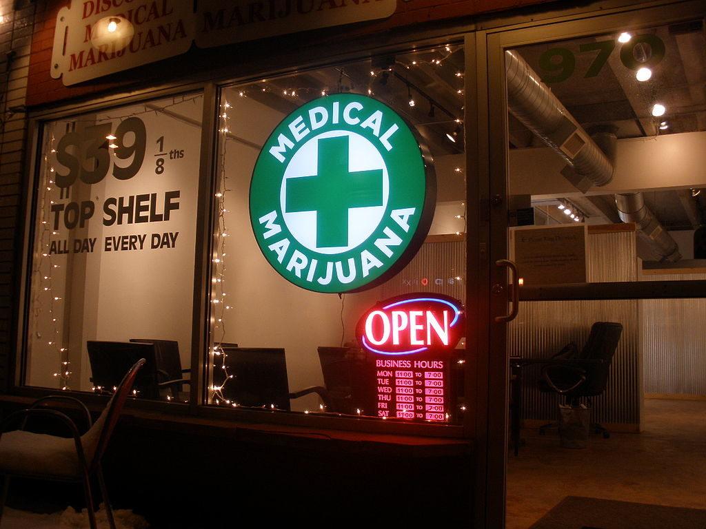 negozio di marijuana medica negli stati uniti