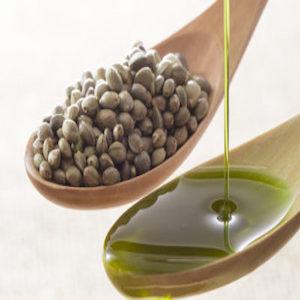 semi e olio di canapa