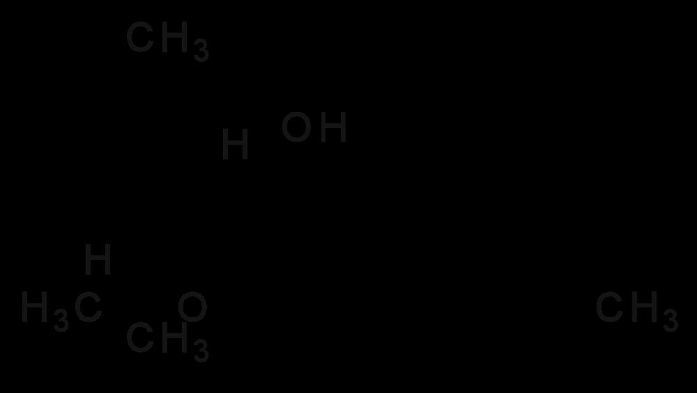 struttura del thc