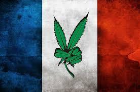 bandiera francese e cannabis