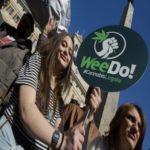 manifestazione legalizzazione cannabis