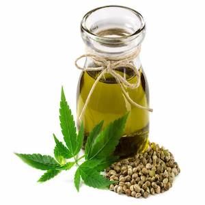 olio di canapa e semi