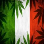 canapa sulla bandiera italiana