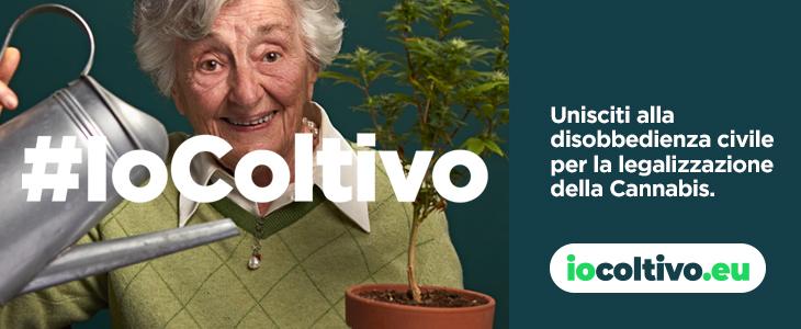 banner dell'iniziativa #IoColtivo