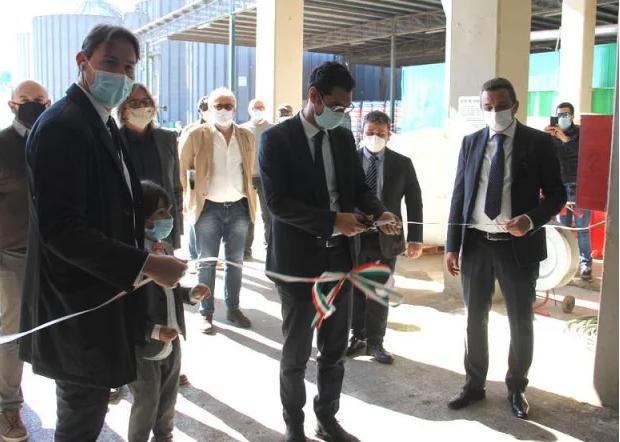 inaugurazione centro trasformazione canapa